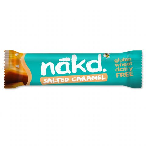 Salted Caramel - Nakd Raw Fruit & Nuts Bars 35g